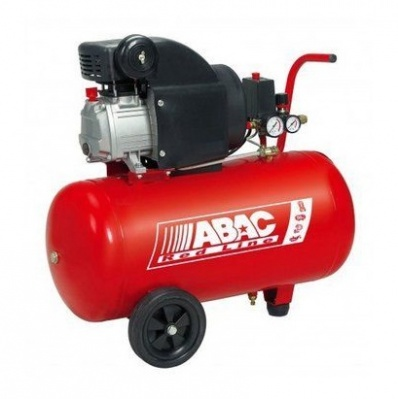 Abac Red Line 50 lt Compressore coassiale Red Line 50 lt 2 Hp con lubrificazione