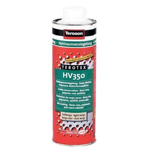 Teroson WX 350 Terotex HV 350 cera per scatolati con additivi antiruggine